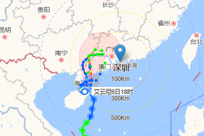 考生注意!高考首日深圳有暴雨局部大暴雨