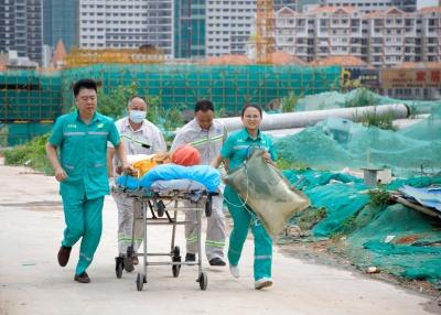 一切为了安全!东莞莞城街道模拟基坑坍塌救援