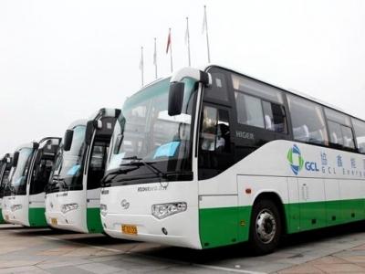 东莞大朗启用首个电动汽车快充电站,公交车40分充满