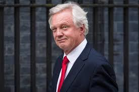 英国脱欧大臣戴维·戴维斯辞职