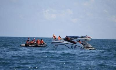 驻泰使馆确认41名中国公民在翻船事故中遇难 打捞正在进行