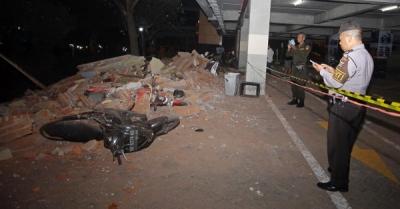 印尼地震遇难者达98人 滞留吉利岛中国游客已全部疏散