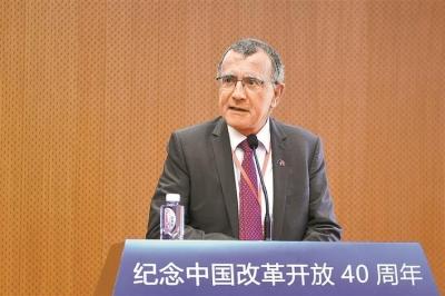 欧洲联盟驻华代表郁白: 开放化投资 带动全球合作