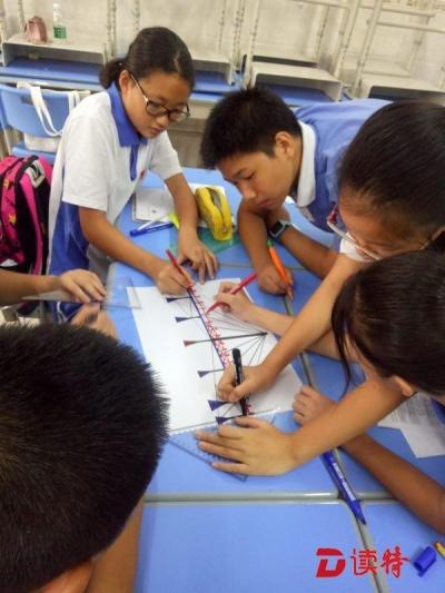 """宝安一学校用""""十年树人""""课程引导学生规划未来"""