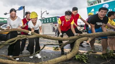 齐心协力,众志成城!罗湖开展城市环境恢复工作救助行动