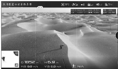 男子在塔克拉玛干沙漠迷路 警察用无人机引路救出