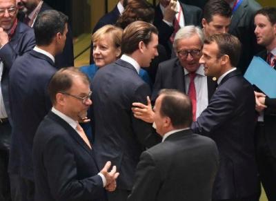 欧盟领导人计划加强边境以阻止移民流动