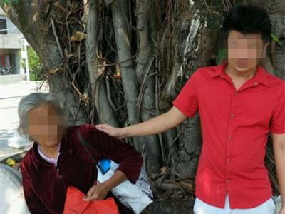 河源老人走失来到深圳 大鹏警方帮她回家