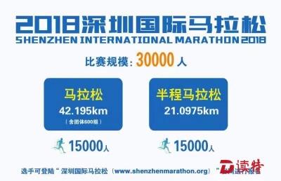 """2018""""深马""""来了!26日开始报名!今年取消6公里跑"""