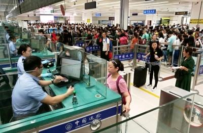 深圳口岸国庆假期日均迎客逾80万人次