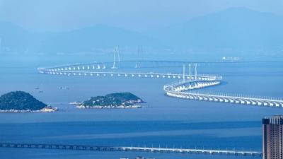 定了!港珠澳大桥24日正式通车