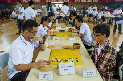 粤港澳大湾区大学生围棋联赛开幕,聂卫平、常昊来深助阵