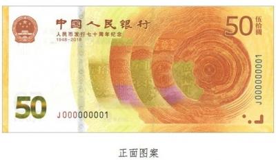 人民币发行70周年了!纪念钞下周五预约