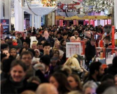 """买买买!美国""""黑色星期五""""网购销售额增长近三成"""