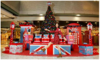"""去香港喝一杯英式下午茶,乐享""""满屋英伦圣诞风"""""""