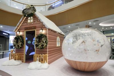 全国7家来福士、31家凯德购物中心共同点亮圣诞