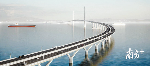 北有深中通道、南有港珠澳大桥,为啥还要建深珠通道?