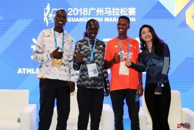 广马中外选手有信心创造好成绩