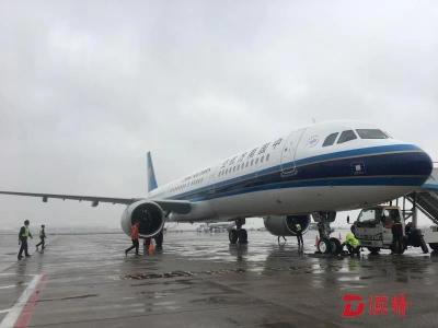 能上局域网还能充电!南航新飞机入列备战深圳春运