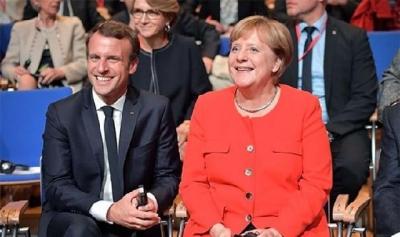 马克龙和默克尔在欧盟夺权,密谋提高欧盟权力