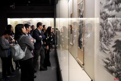 深博跨年展! 深圳博物馆藏20世纪中国书画精品展开幕