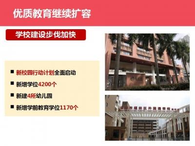 财政民生投入190亿元,福田加大民生保障力度增进民生福祉