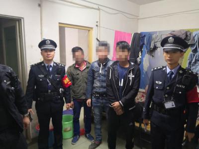 网格员夜巡揪出6名缅甸籍非法务工人员