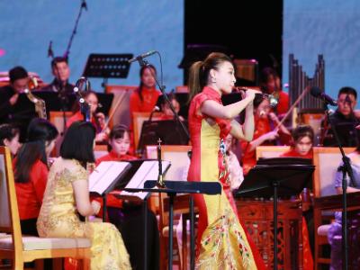 高校民族器乐演出交流会西乡举行 辖区居民欣赏纯正民乐盛宴