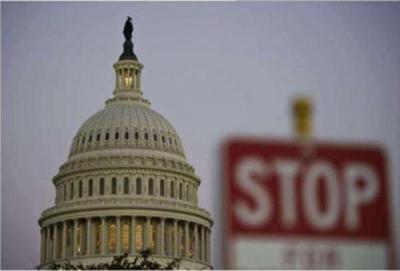 """美国政府关门时间追平史上最长纪录 特朗普""""松口"""""""
