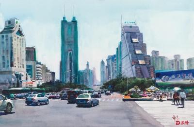 看展 丹青翰墨硕果丰收!2018深圳画院院展开展