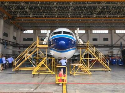 确保飞机安全适航 粤东首条波音737NG飞机C检线启动