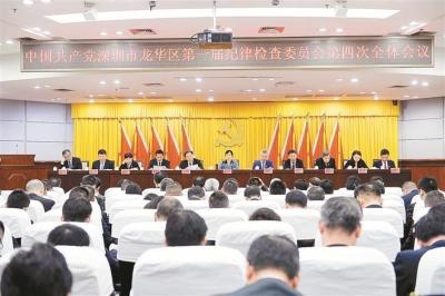 龙华区纪委召开一届四次全会 研究部署2019年工作任务