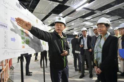 香港特区政府争取在年内完成新口岸建造工程