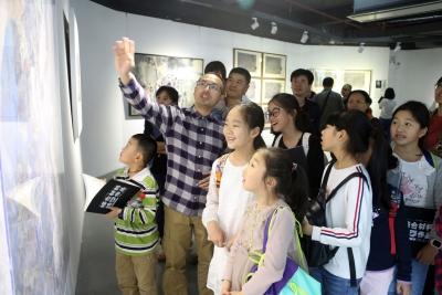 丰富艺术表现语汇!深圳综合材料绘画作品邀请展开展