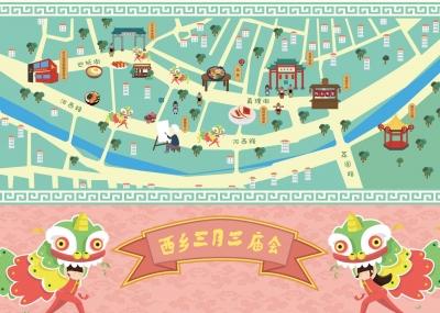 """西乡民俗文化节北帝古庙""""三月三""""庙会将于4月1日至13日举行"""