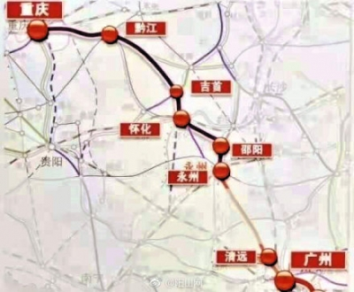 6小时内吃遍火锅、烩面、刀削面,广清重高铁将打造北上新通道