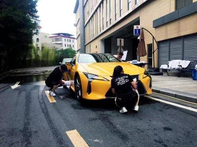 硬核洗车狂欢派对尽在深圳硬石酒店