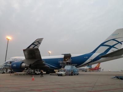 深圳机场开通今年首条国际货运航线