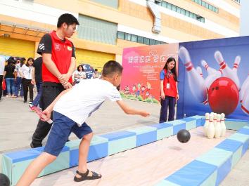 龙华为来深建设者家庭举办健康趣味运动会