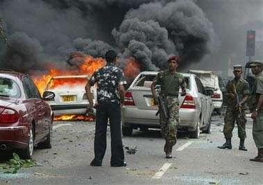 外媒:斯里兰卡爆炸案致310人遇难 有40名嫌犯被捕