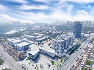 全国首个全装配式钢结构产业园!广安(深圳)产业园首期项目建成