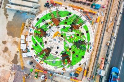 春风隧道工程又有新进展!下月中旬开始盾构挖掘