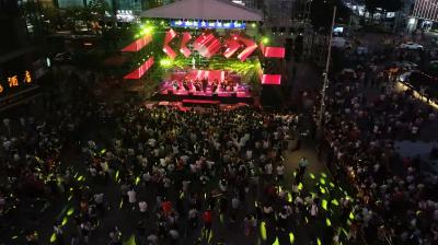 视频 | 当电音遇上交响乐!点燃中国电子第一街!