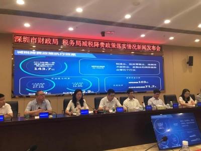 深圳第一季度新增减税政策减税143.7亿元,民企成最大受益主体