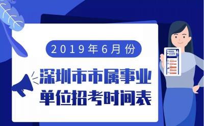 深圳面向全国招人啦!市属事业单位招聘126人