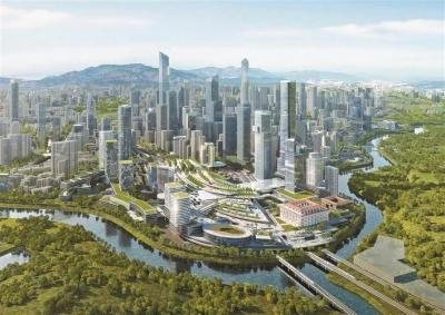 罗湖将以罗湖文锦渡莲塘三大口岸为核心打造深港口岸经济带