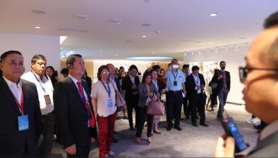 就在今天!多国市领导参观华为总部智能城市解决方案!