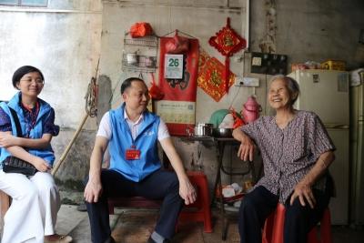 暖心!東莞大朗大井頭社區每天為80歲以上老人送愛心餐