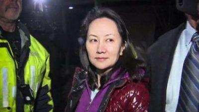 孟晚舟的律师称对孟的扣押是违法的