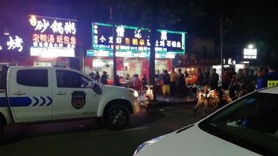 行政拘留5日 沙井一商铺店主超门店经营暴力抗法受到严惩